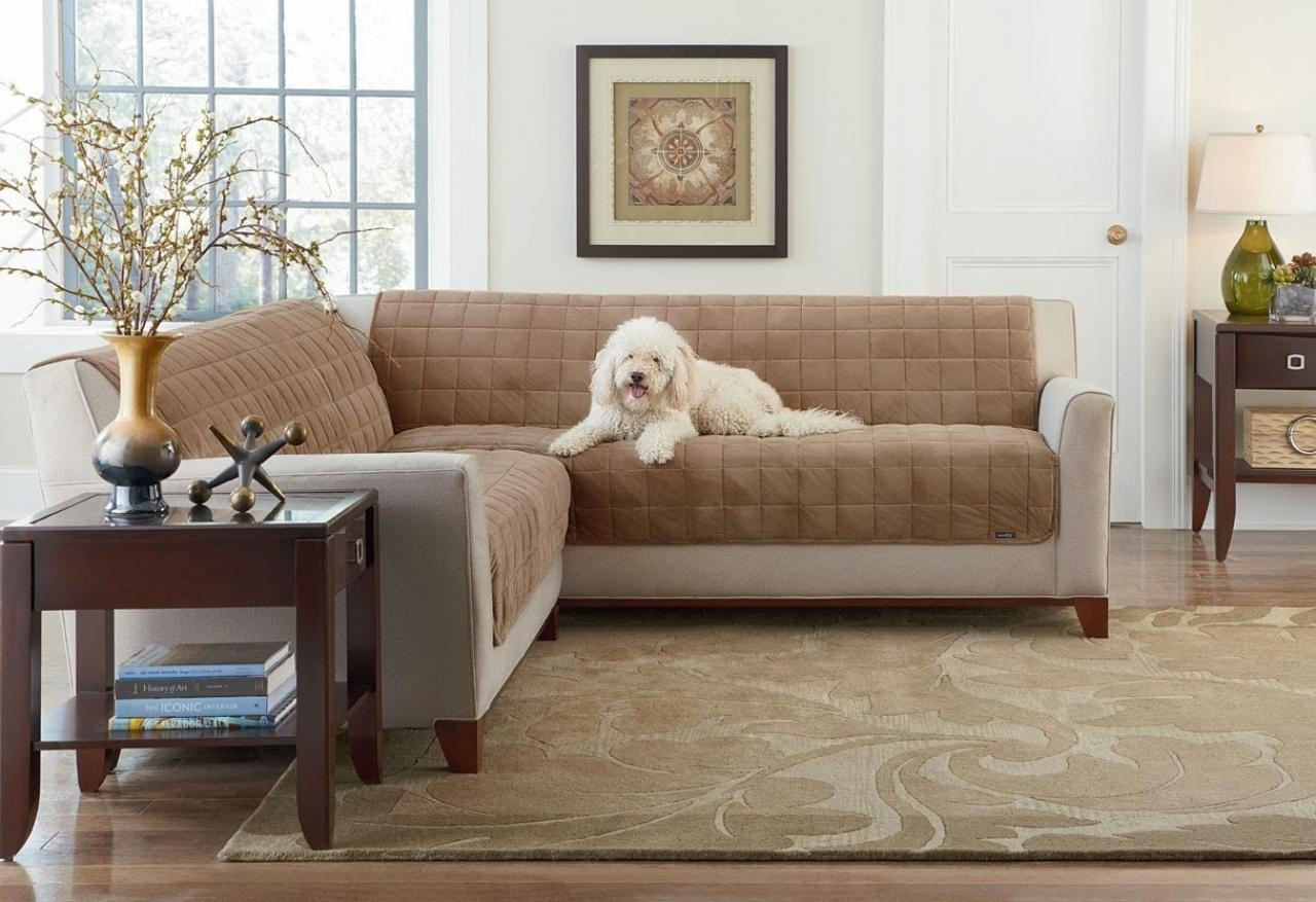 Furniture: Slipcovers For Sectional That Applicable To All Kinds With Slipcover For Leather Sectional Sofas (Image 12 of 21)
