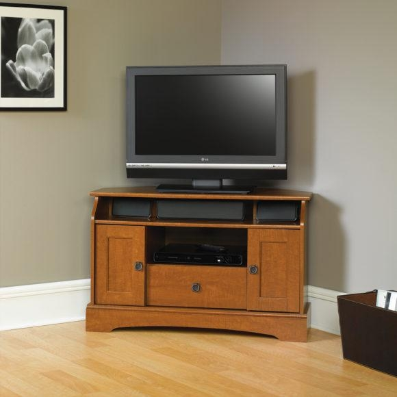 Furniture. Spacious Corner Unit Tv Stands Design (Image 17 of 20)