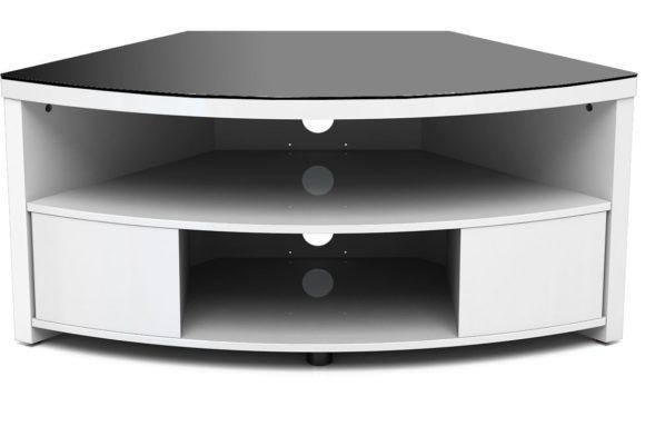 Furniture. Spacious Corner Unit Tv Stands Design (View 9 of 20)