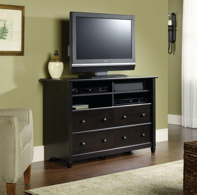 Furniture: Tall Tv Stand Features To Consider – Tall Tv Stand With In Best And Newest Cream Color Tv Stands (Image 13 of 20)