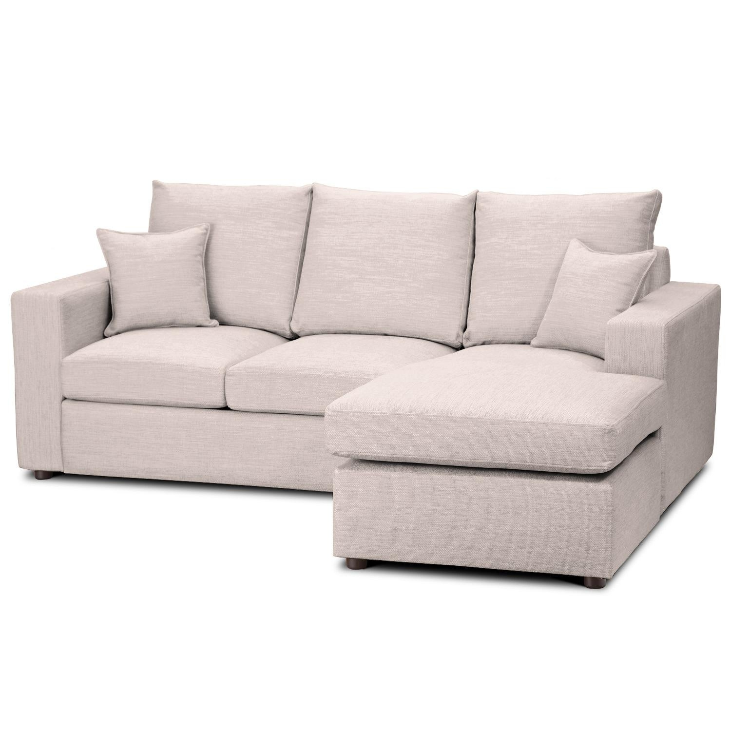 Furniture: Vivacious Chaise Sofa Bed With Softly Bed Foam For Pertaining To Cushion Sofa Beds (Image 7 of 23)
