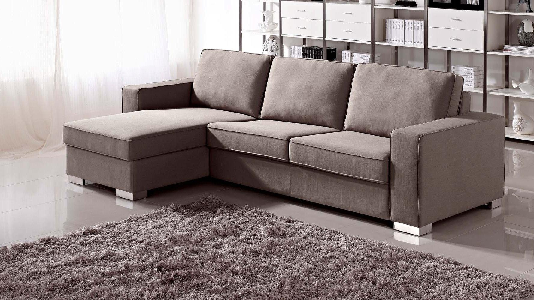 Furniture: Wondrous Alluring Sectional With Sleeper For Home With Regard To Sectional Sofa Beds (View 16 of 20)