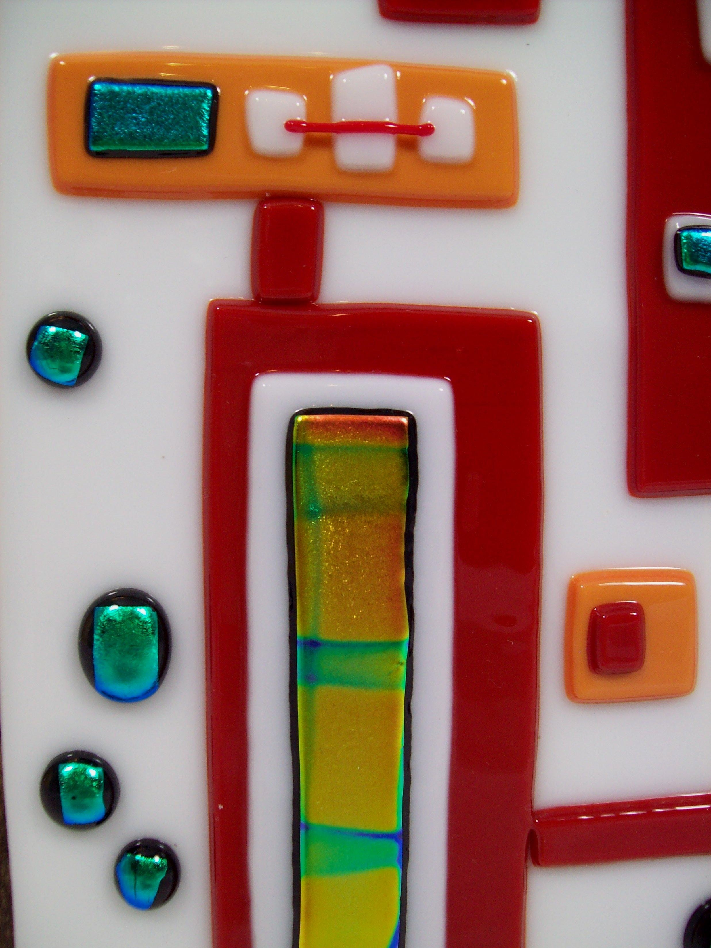 Fused Glass Wall Art #wm35 Regarding Cheap Fused Glass Wall Art (View 19 of 20)