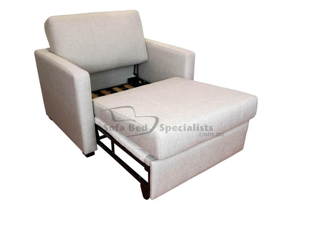 Futon Chairs Turn Into Beds – Lentine Marine | #42002 Pertaining To Single Chair Sofa Beds (Image 6 of 22)