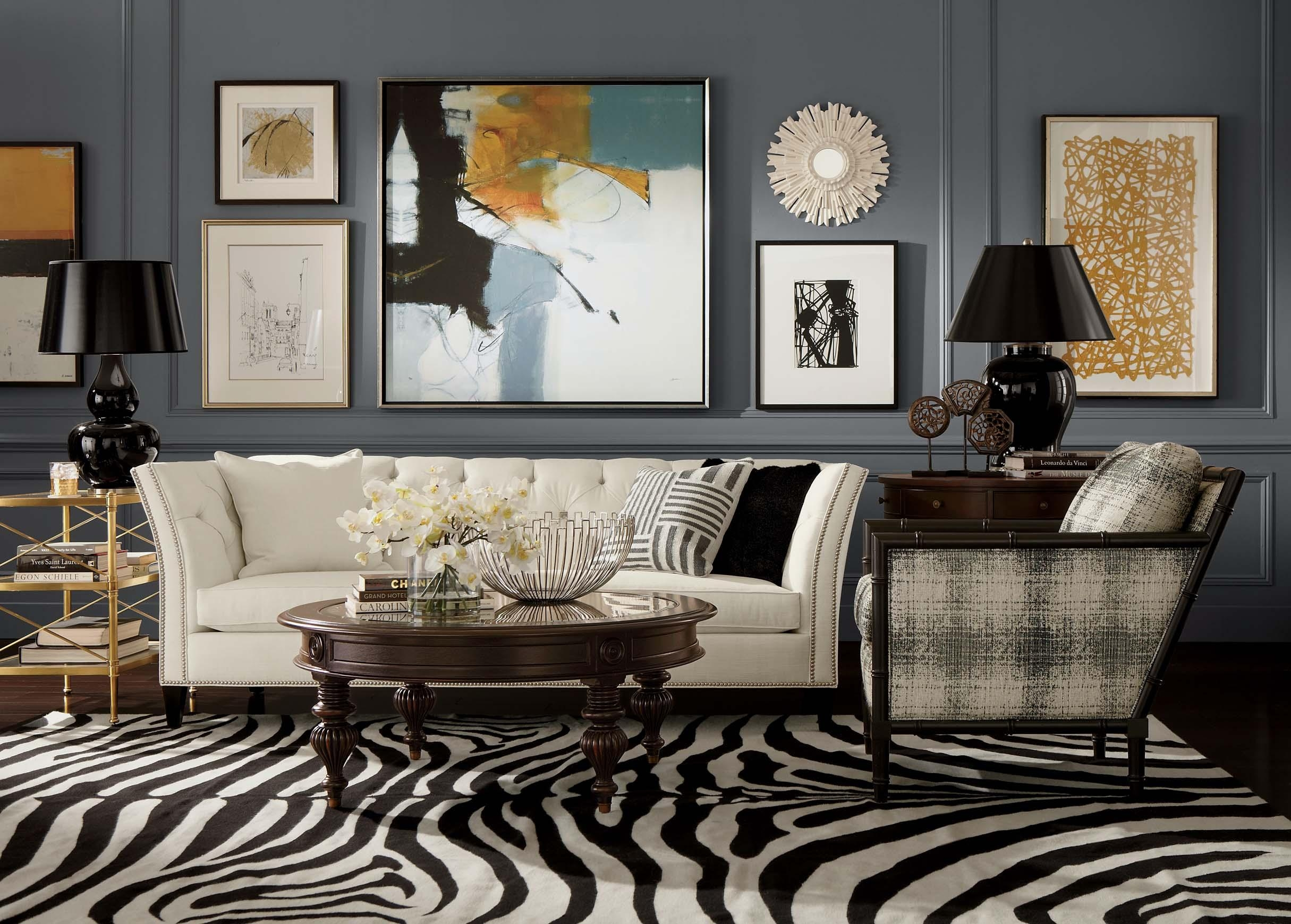 Gallery Living Room | Ethan Allen With Regard To Ethan Allen Wall Art (Image 5 of 20)