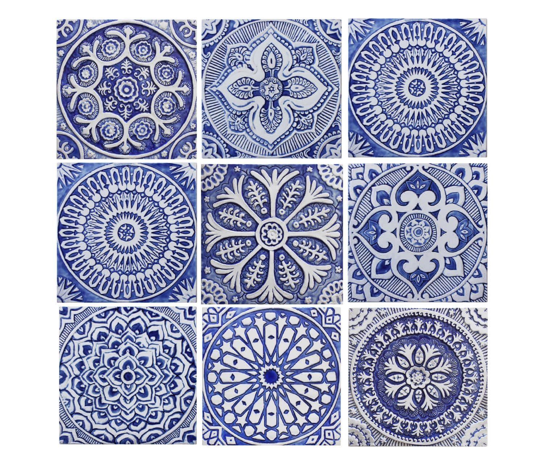 Garden Decor Outdoor Wall Art And Ceramic Tiles (Image 12 of 20)