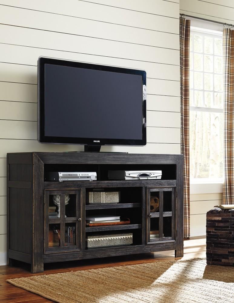 Gavelston - Lg Tv Stand W/fireplace Option | W732-38 | Tv Stand inside 2018 Tv Stands 38 Inches Wide