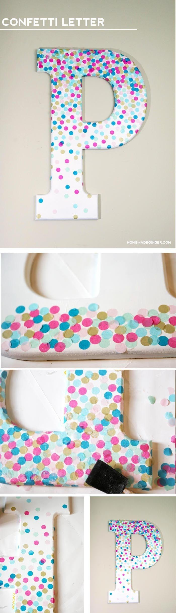 Get 20+ Decorative Wall Letters Ideas On Pinterest Without Signing Pertaining To Decorative Initials Wall Art (Image 9 of 20)