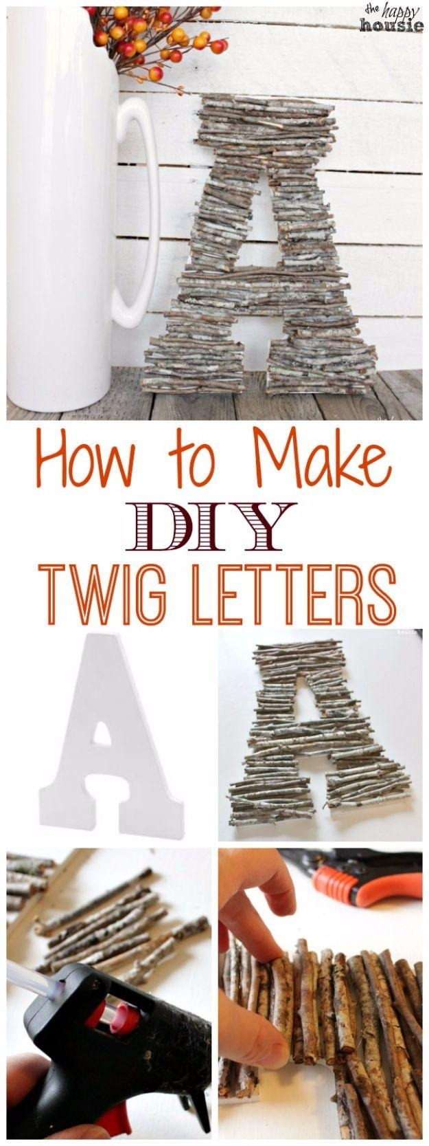 Get 20+ Decorative Wall Letters Ideas On Pinterest Without Signing Pertaining To Decorative Initials Wall Art (View 5 of 20)
