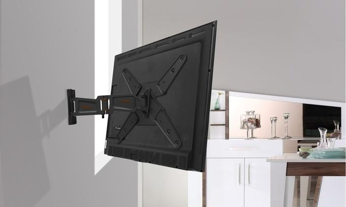 Gforce Tilting Tv Wall Mount | Groupon Goods With 2018 Tilted Wall Mount For Tv (Image 5 of 20)