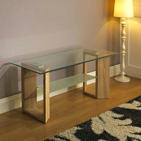Glass And Oak Tv Stand – Effluvium Throughout Most Recent Glass And Oak Tv Stands (View 6 of 20)