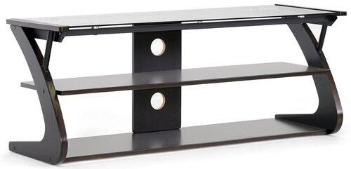 Glass Flat Panel Tv Stands: Television Stand Guide Regarding Best And Newest Black Glass Tv Stands (View 7 of 20)