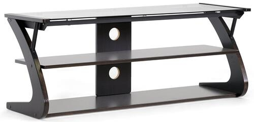 Glass Flat Panel Tv Stands: Television Stand Guide With Most Recent Glass Tv Stands (Image 10 of 20)