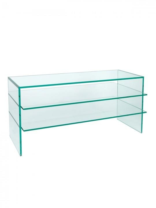 Glass Table Tv Stand – Table Designs Inside Latest Clear Glass Tv Stand (Image 8 of 20)