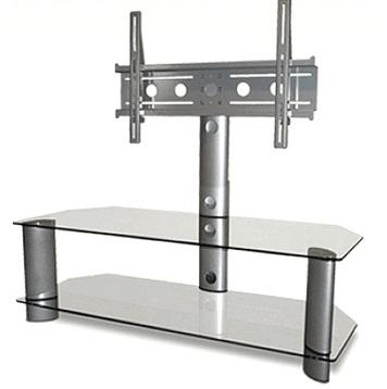 Glass Tv Stands & Entertainment Centers For Homes & Upscale Pertaining To Most Recent Glass Tv Stands (Image 12 of 20)