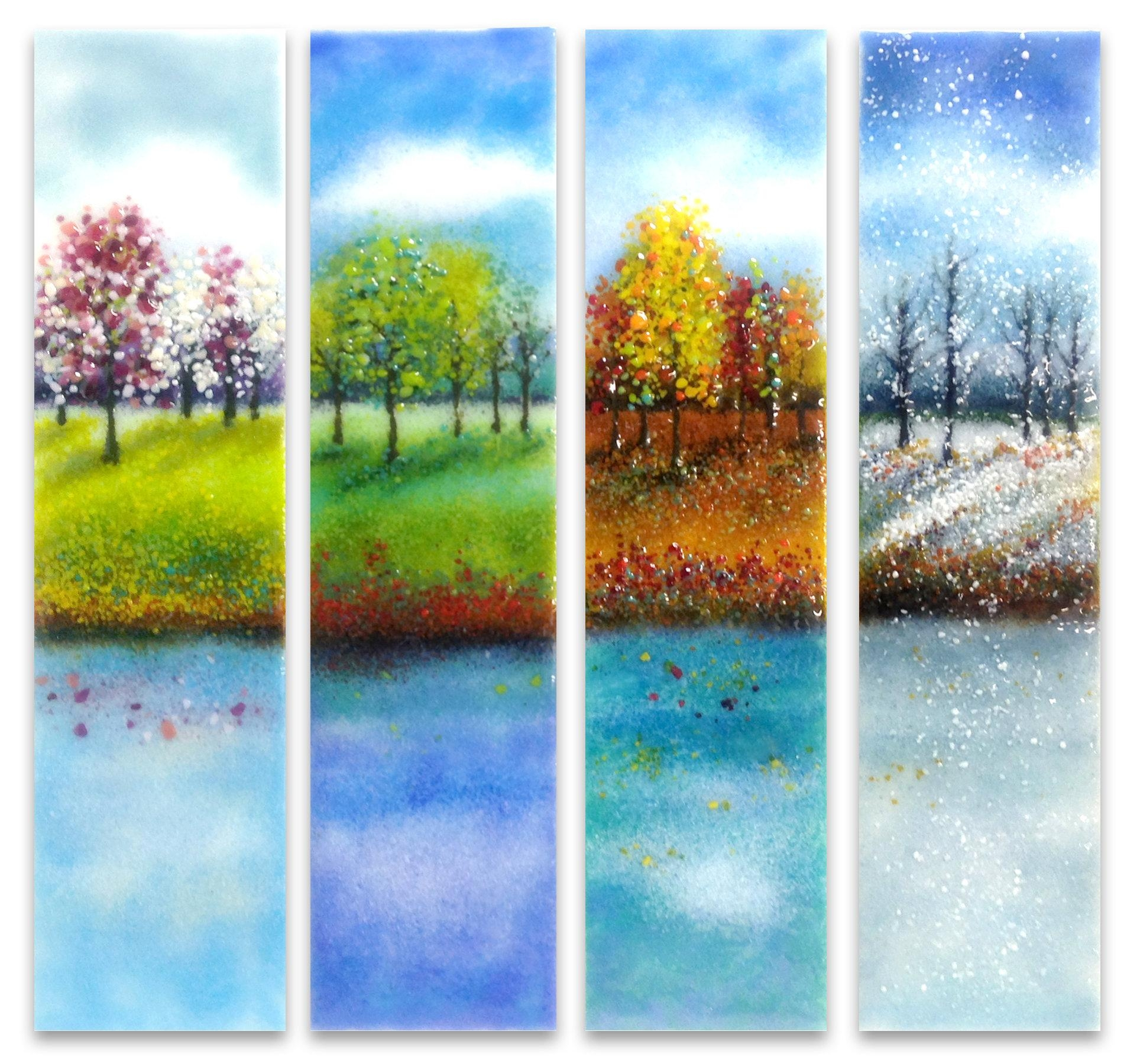 Glass Wall Art | Roselawnlutheran Throughout Glass Wall Art For Sale (Image 3 of 20)