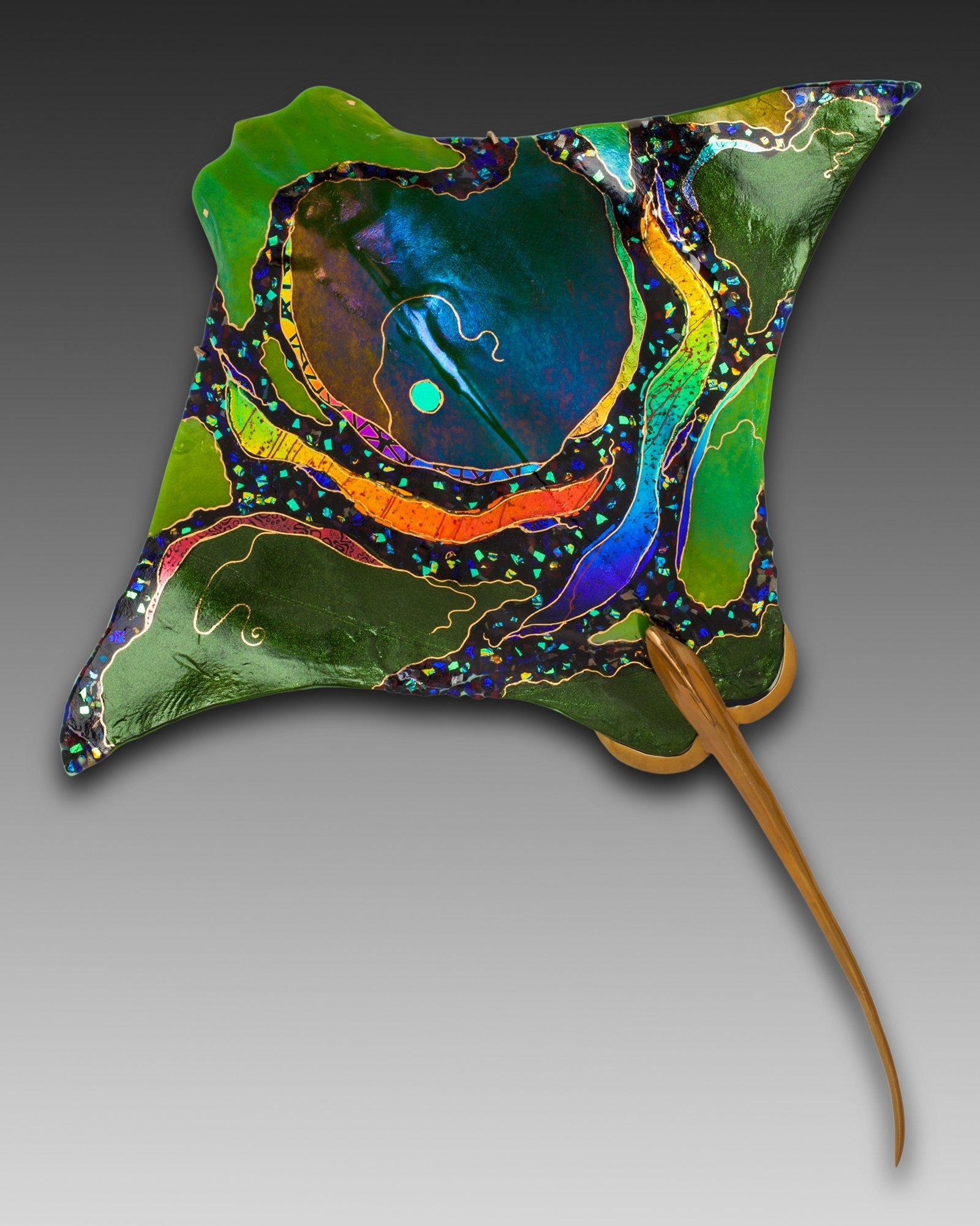 Glass Wall Artnorth American Artists | Artful Home In Fused Glass Fish Wall Art (View 8 of 20)