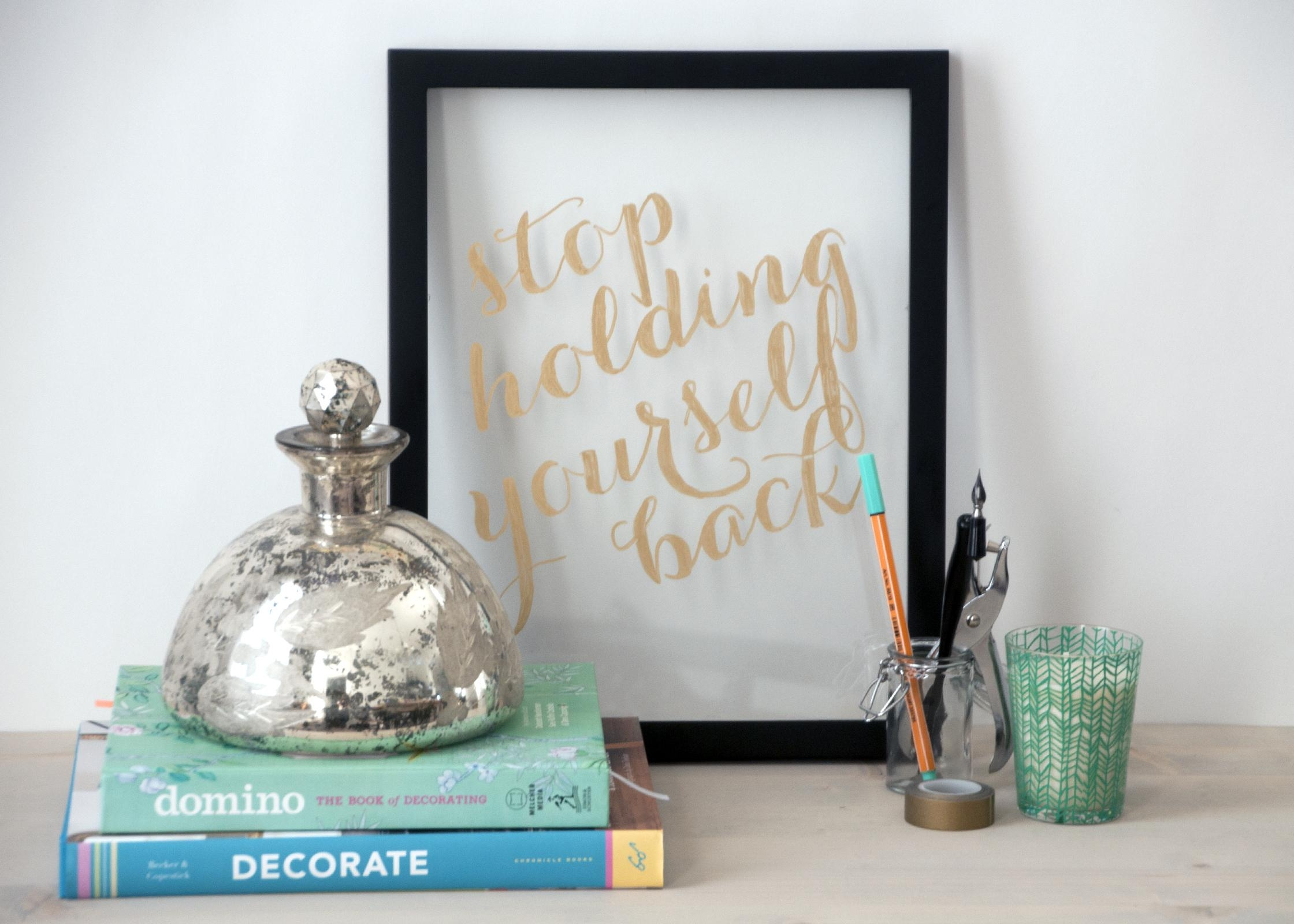 Gold Handmade Wall Art – Earnest Home Co (View 19 of 20)