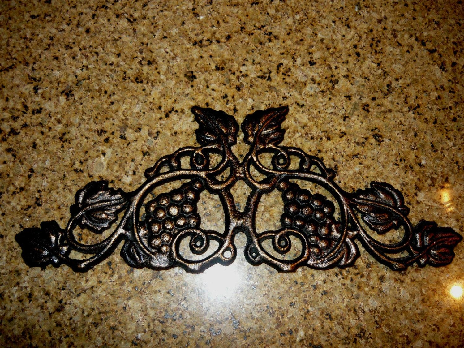 Gorgeous Discover Tuscan Metal Wall Art Decorating Ideas Tuscan With Grape Vine Metal Wall Art (View 12 of 20)