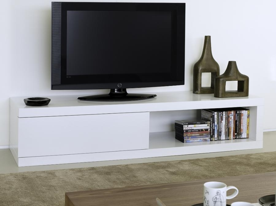 Gorgeous White Tv Unit Temahome Atoll Storage Tv Stand In Pure Within Most Recently Released Low Tv Units (Image 11 of 20)