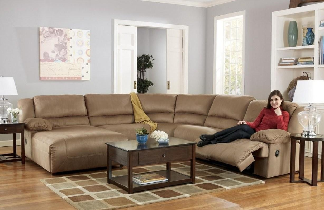 Graceful Tags : Sectional Recliner Sofas Comfort Sleeper Sofa Inside Sectional Sofa Recliners (Image 7 of 20)