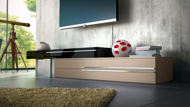 Gramercy Contemporary & Modern Tv Standsmodloft – Modern In Most Recently Released Contemporary Tv Stands (View 9 of 20)