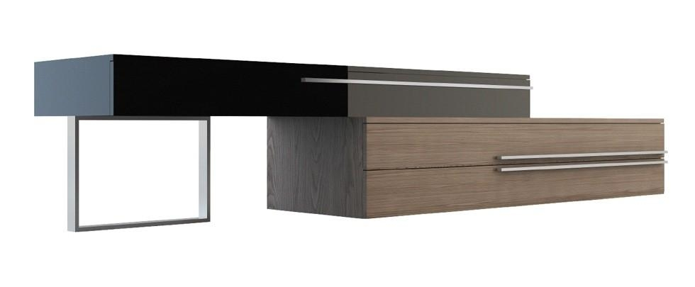 Gramercy Tv Standmodloft | Modern Tv Stands | Cressina Pertaining To Most Popular Modern Walnut Tv Stands (View 19 of 20)