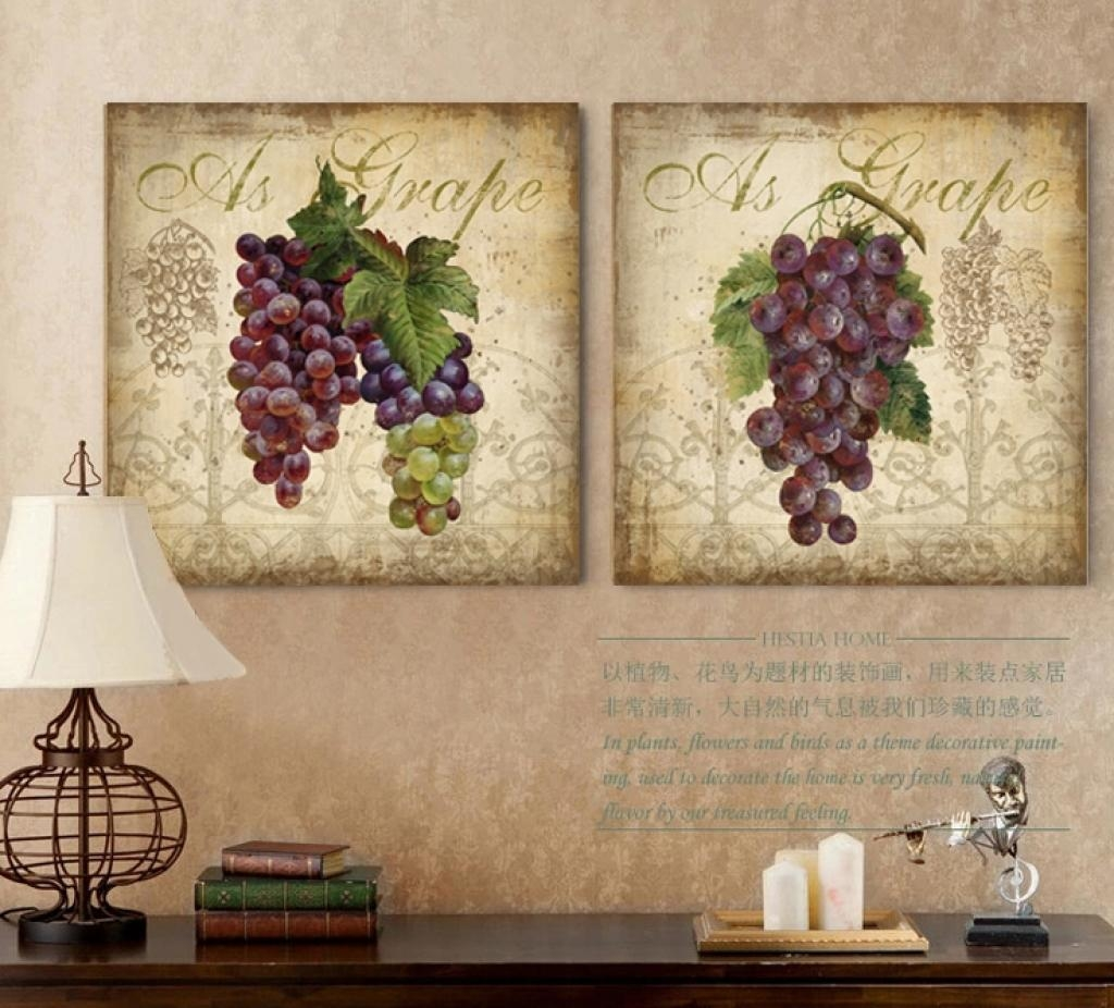 Grape Vine Metal Wall Art Metal Wall Sculpture Home Decor Grape In Metal Grape Wall Art (Image 6 of 20)