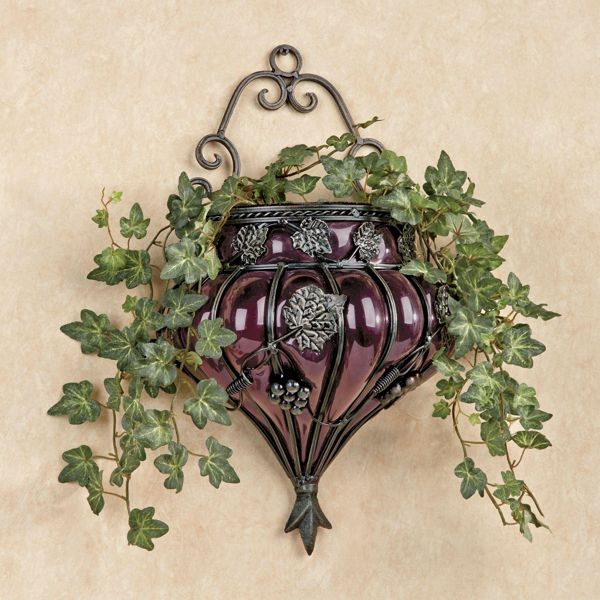 Grapes And Wine Home Decor | Touch Of Class With Regard To Metal Grape Wall Art (Image 9 of 20)