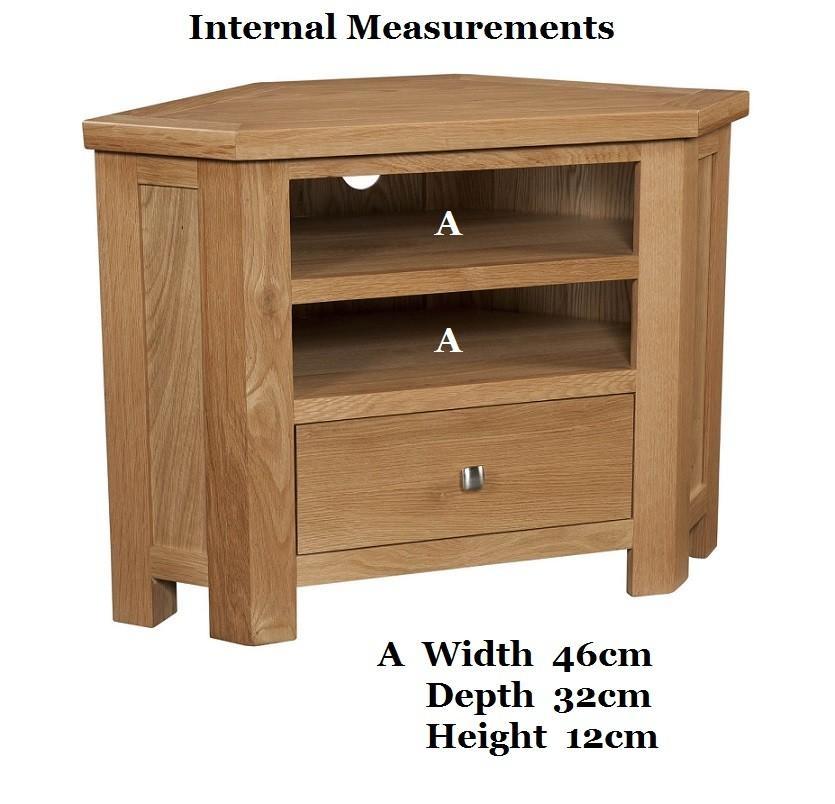 Grasmere Light Oak Corner Tv Unit | Oak Furniture Uk With Most Recent Light Oak Corner Tv Cabinets (View 11 of 20)