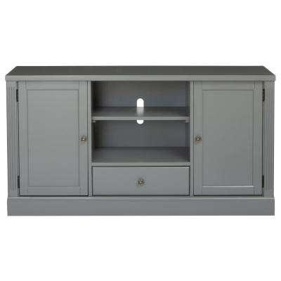 Gray – Tv Stands – Living Room Furniture – The Home Depot Intended For Current Grey Tv Stands (Image 9 of 20)