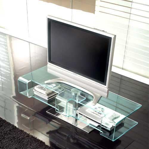 Great Collection Of Modern Plasma Tv Stand Designedtonin Casa Throughout Most Popular Modern Glass Tv Stands (View 10 of 20)