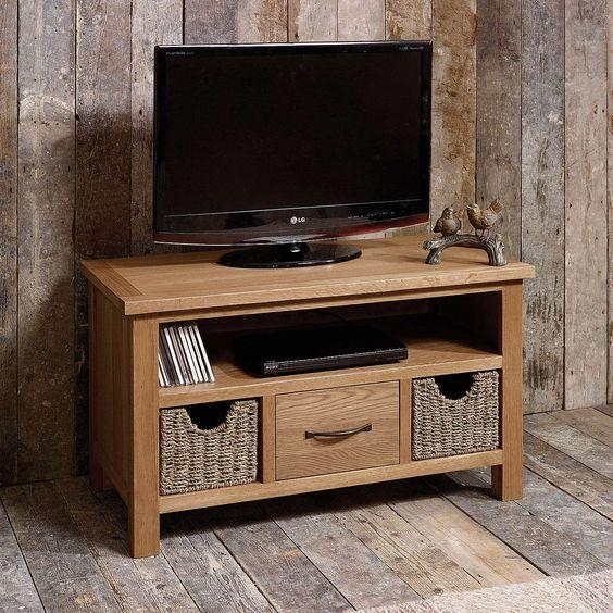 Great Tv Stands Tv Stand With Baskets Wicker Basket Storage Stands Intended For Recent Tv Stands With Baskets (Image 13 of 20)
