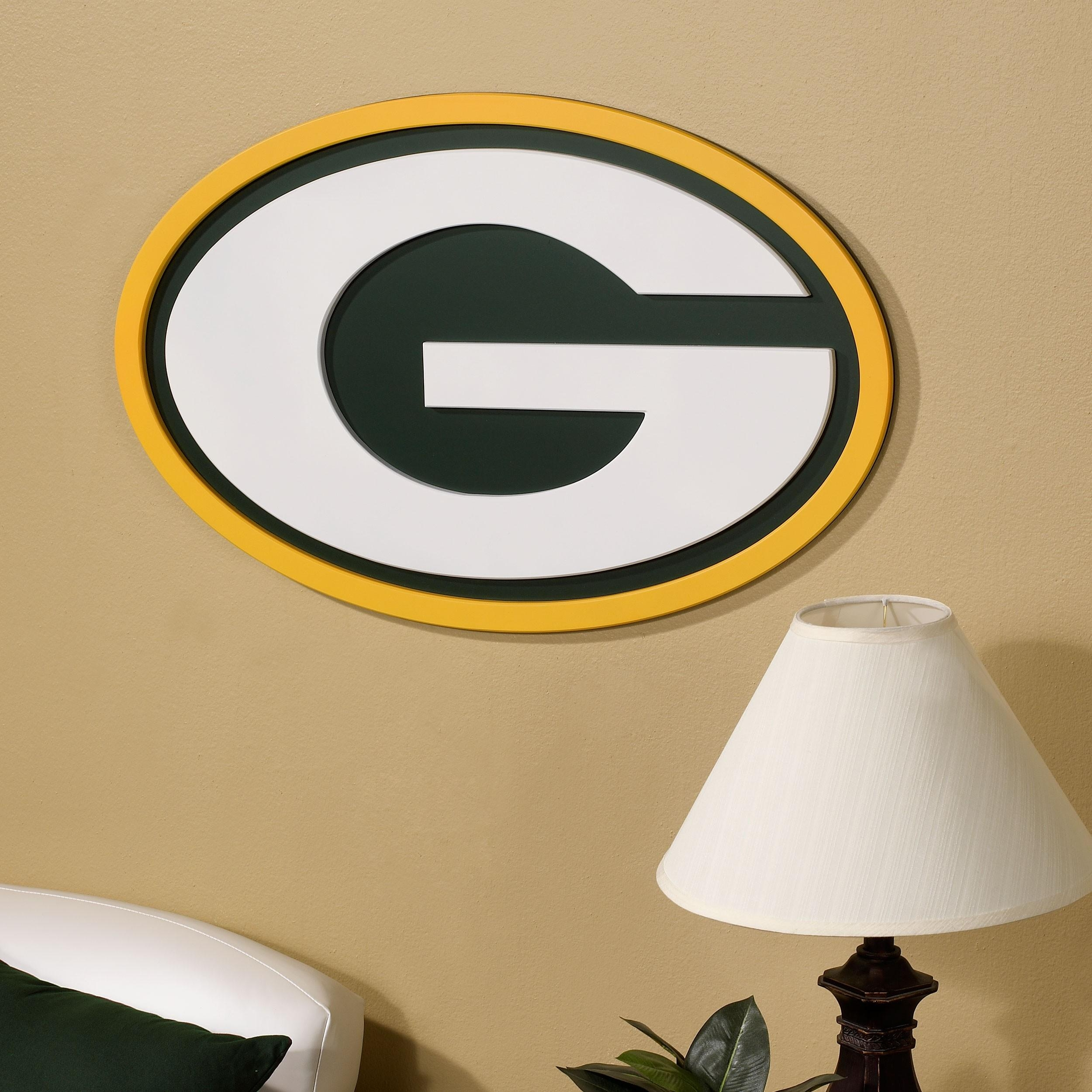 Green Bay Packers 'g' Logo Wall Art 31Inch – Wall Decor – Home Throughout Green Bay Packers Wall Art (Image 2 of 20)
