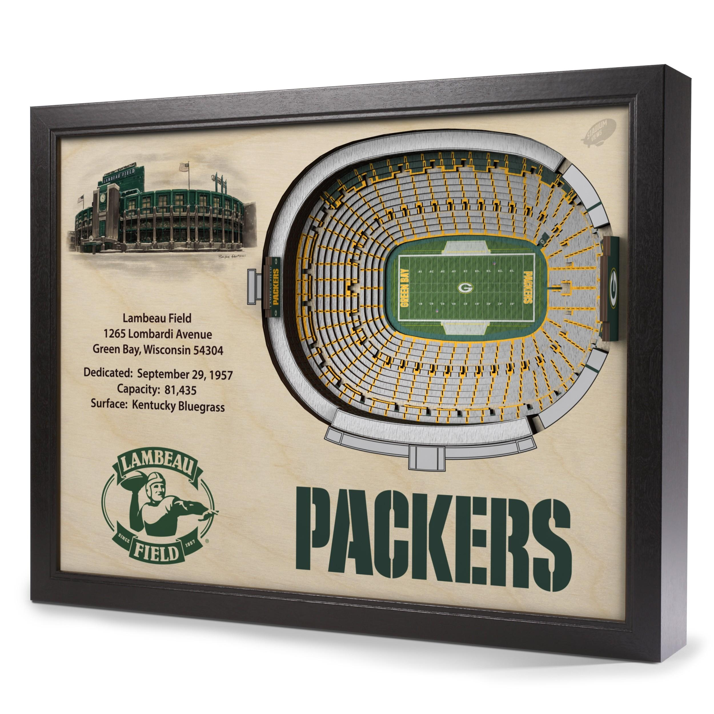 Featured Image of Green Bay Packers Wall Art