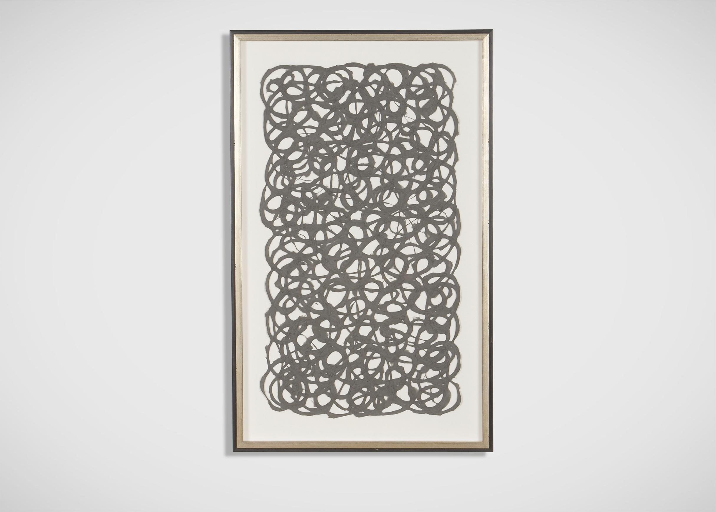 Grey Paper Art | Abstract Throughout Ethan Allen Wall Art (Image 6 of 20)