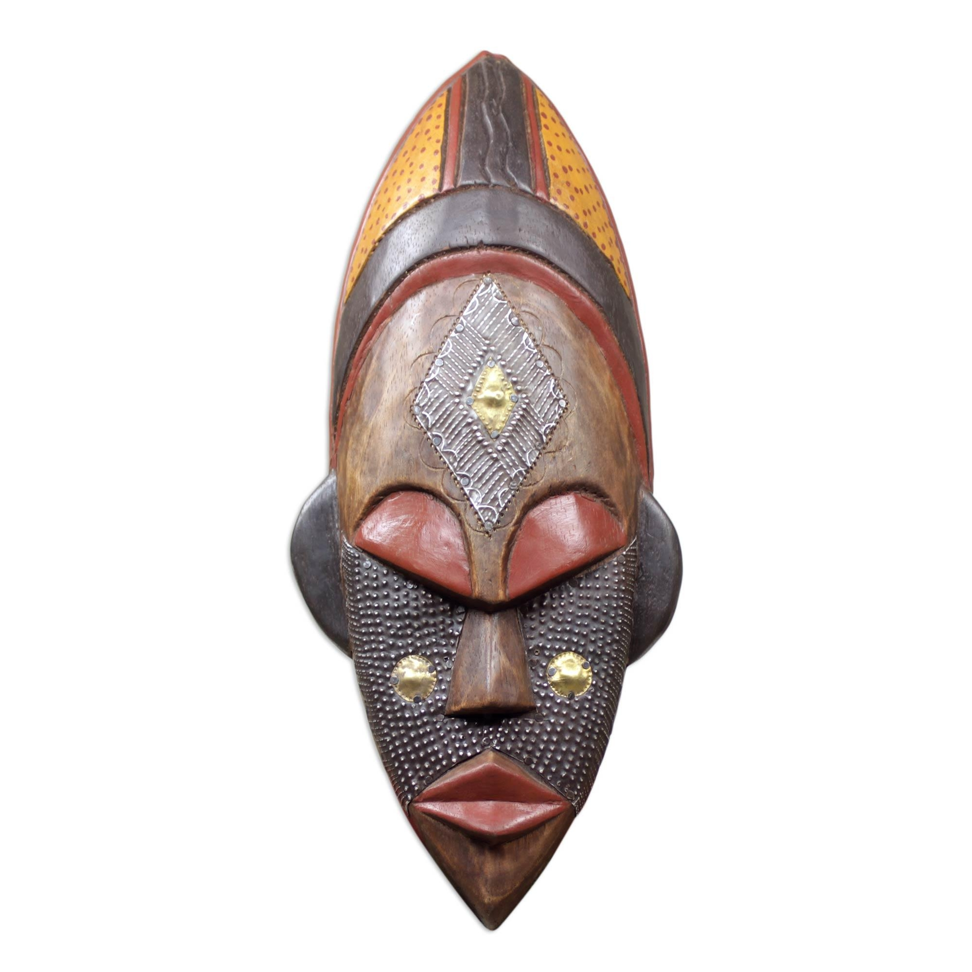 Hand Crafted Ivory Coast Mask – Dan Beauty | Novica For Wooden Tribal Mask Wall Art (Image 12 of 20)