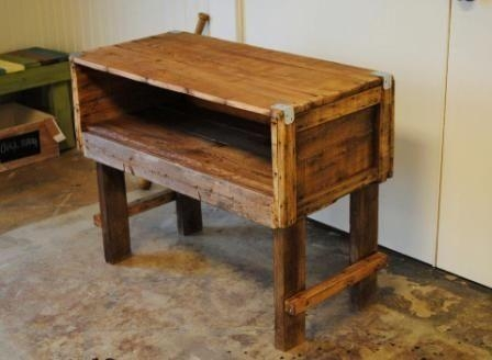 Hand Made Reclaimed Wood Tv Standsb Designs | Custommade intended for Newest Recycled Wood Tv Stands