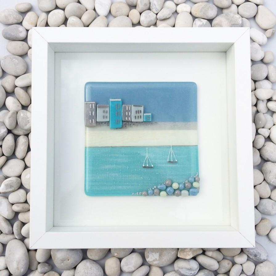 Handmade Fused Glass Gifts And Wall Artblueberry Glass Regarding Contemporary Fused Glass Wall Art (Image 17 of 20)