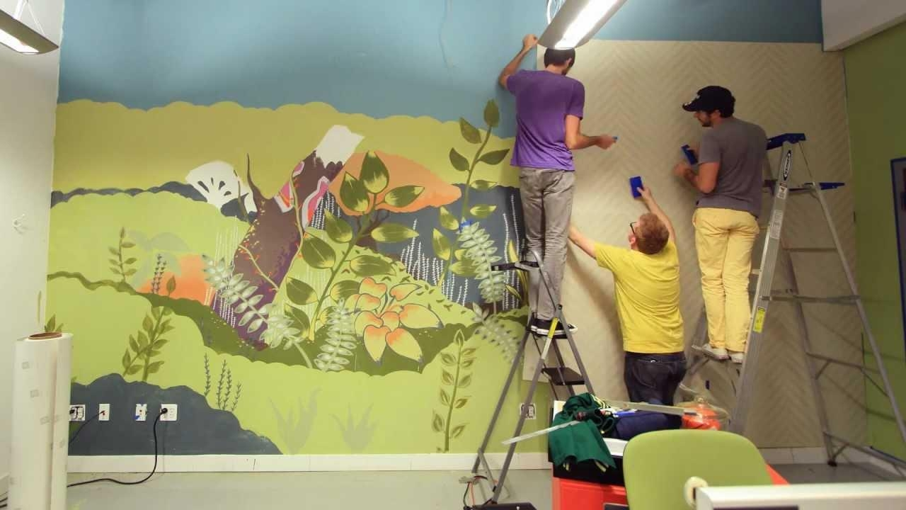 Hanging The Newest Threadless + Blik Wall Decal In Our Office For Blik Wall Art (View 13 of 20)