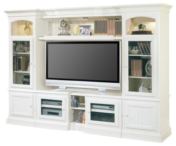 Hartford Expandable Entertainment Wall – Beach Style With Regard To Best And Newest Entertainment Center Tv Stands (View 12 of 20)