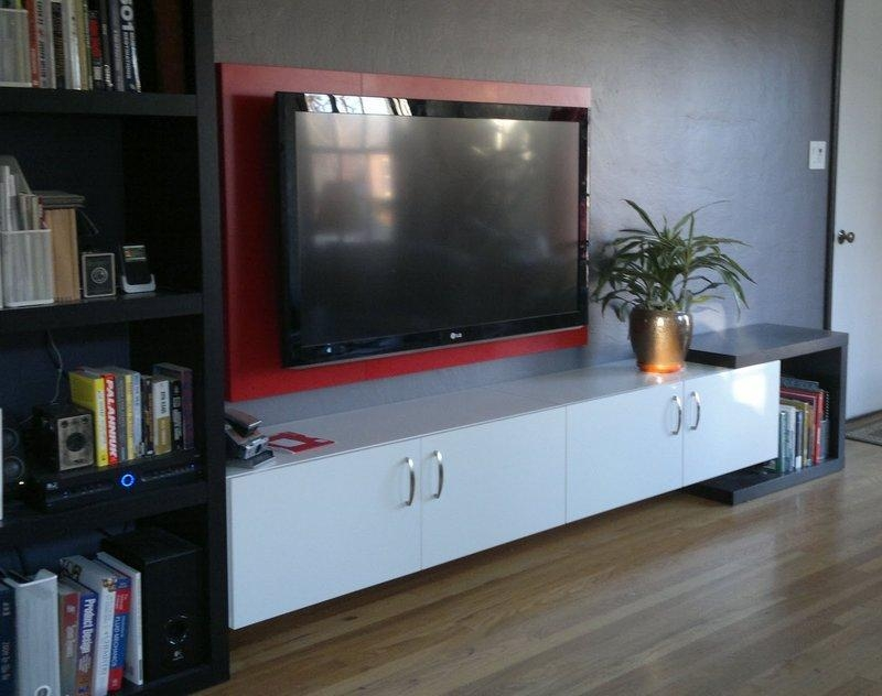 Hdtv Frame – Ikea Hackers – Ikea Hackers Inside Most Recently Released Wall Mounted Tv Cabinet Ikea (View 11 of 20)