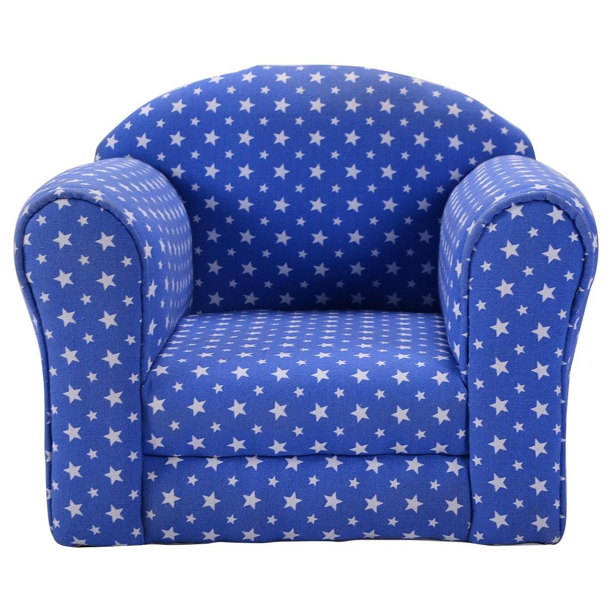 Heart Shaped Printed Armrest Children Couch 2 Colors – Sofas Inside Children Sofa Chairs (View 18 of 22)