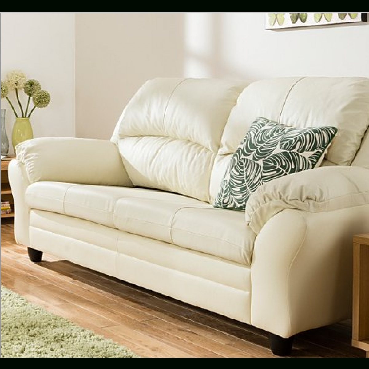 Featured Photo of Ivory Leather Sofas