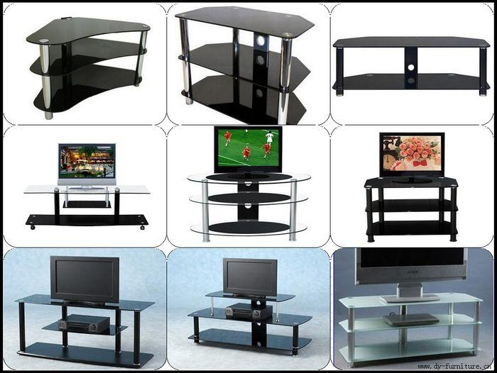 High Gloss Tempered Glass Plasma Delica Coffee Table Tv Stand With Current Cheap Tv Table Stands (View 20 of 20)