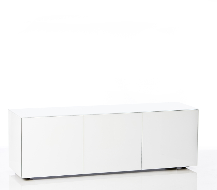 High Gloss White Tv Cabinet 150Cm With Wireless Phone Charger | Tv Within Most Popular 150Cm Tv Unit (Image 10 of 20)