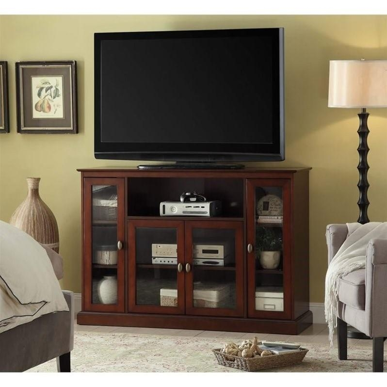 Highboy Tv Stand In Espresso – 8066036 Regarding Most Popular Highboy Tv Stands (View 12 of 20)