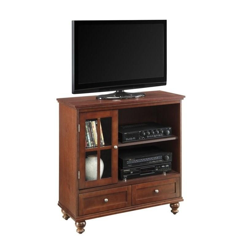 Highboy Tv Stand In Espresso – 8067000 Intended For Most Recent Highboy Tv Stands (View 4 of 20)