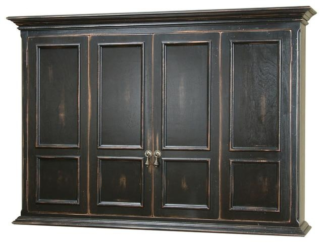 Hillsboro Flat Screen Tv Wall Mount Cabinet – Traditional With Most Recent Wall Mounted Tv Cabinets For Flat Screens (Image 4 of 20)