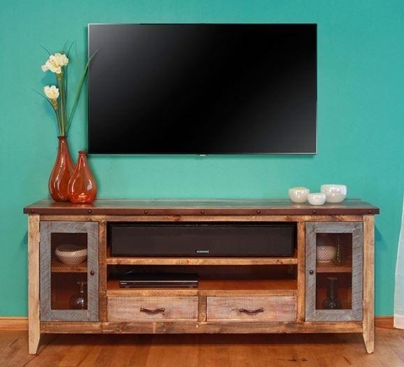 Holbrook Tv Stand Add Interest And Rustic Appeal To Your Home Throughout Most Up To Date Rustic Looking Tv Stands (Image 16 of 20)
